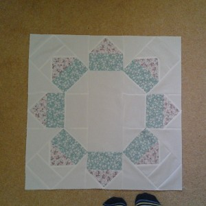 Octagon Flower Center Quilt