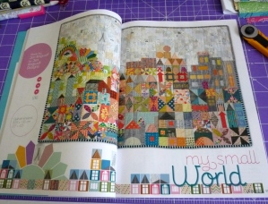 My Small World Quiltmania
