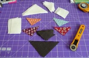 Summer Baskets Denyse Schmidt fabric mini quilt